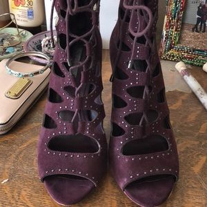Deep purple BCBG heels